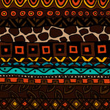 Background with ethnic ornament Royalty Free Stock Photography