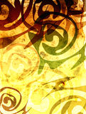 Background with ethnic patterns Stock Photos