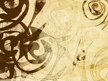 Background with ethnic patterns Stock Images