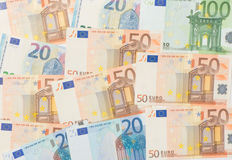 Background of the euro Stock Image