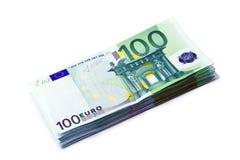 Euro money. Background of euro money 100 stock photography