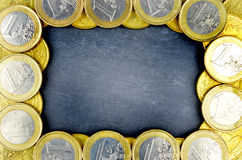Background of euro money Stock Photos