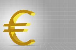 Background of Euro Symbol Royalty Free Stock Photo