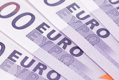 Background of Euros Royalty Free Stock Images