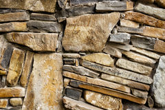 Background of exactly hewn stone. Bonded with cement Stock Image