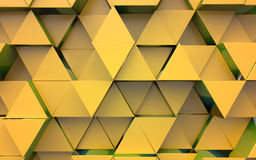 Background from extruded triangles Royalty Free Stock Photos