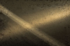 Background fabric is highlighted on both sides by spotlights. Royalty Free Stock Images