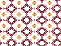 Background in the fabric pattern Stock Image