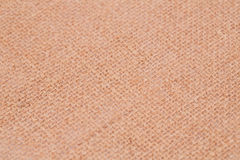 Background. Fabric placemat texture for background, close-up image Stock Photography