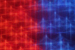 Background fairground lights. Muted red and blue Royalty Free Stock Photos