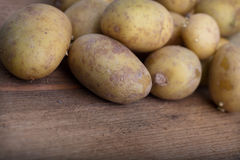 Background of farm fresh potatoes Stock Photos