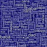 Background on Father's Day Stock Image