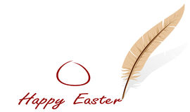 Easter congratulation Royalty Free Stock Images
