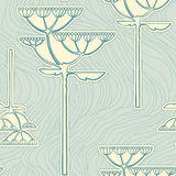 Background from fennel flower branch. Vector background from flower branch Royalty Free Stock Image