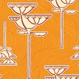 Background from fennel flower branch. Vector background from flower branch Royalty Free Stock Photos