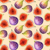 Background with figs Royalty Free Stock Image