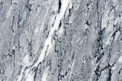 Background of figured gray granular marble with black and white Royalty Free Stock Photography
