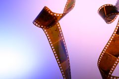 Background with film Royalty Free Stock Image
