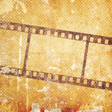 Background with film flame. Vintage background with film flame Stock Photo