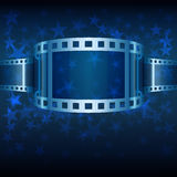 Background with Film Strip Stock Photos