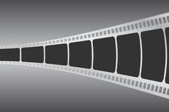 Background with film strip. Cinema concept vector illustration. Cinema concept vector illustration. Background with film strip Stock Image