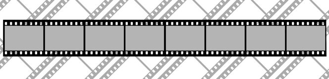 The background of films Stock Photo