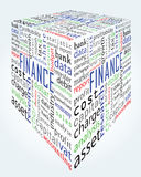 For background - finance and accounting words. With various position and font Stock Photo