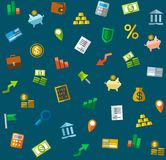 Background, Finance, banking, seamless, color. Royalty Free Stock Photography