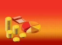 Background finance stock illustration. A background finance stock illustration Royalty Free Stock Photos