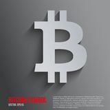 Background of financial currency Bitcoin Stock Photo