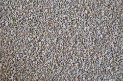 Background of fine gray gravel Stock Photography