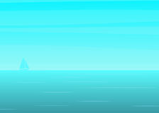 background fiords ray sea sun Στοκ φωτογραφίες με δικαίωμα ελεύθερης χρήσης