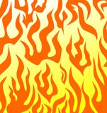 Background with fire Royalty Free Stock Photo