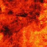 Background of fire as a symbol of eternal torment Stock Photo
