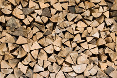 Background of firewood Royalty Free Stock Images