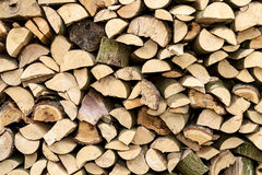 Background of Firewood Logs Stock Photography