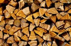 Background of Firewood Stock Image