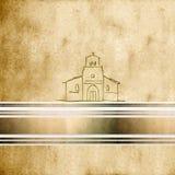 Background first communion Church Stock Photo