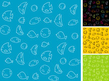 Background fish Stock Images