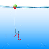 Background fishing, vector Stock Photos