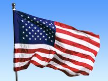 USA United State of America flag background. Background flag usa red white blue striped royalty free stock images