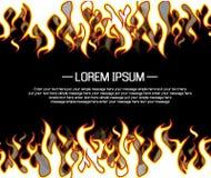 Background flame style cartoon Stock Photo