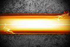 background with flames royalty free stock photography
