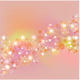 Background with flare. Royalty Free Stock Image