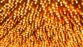 Background of flashing light bulbs stock video