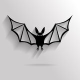 Background of flat vampire Stock Images