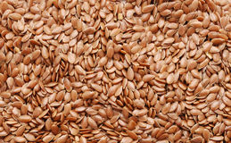 Background of flax seeds Stock Photos