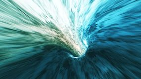Background with flight in sci-fi tunnel with fantastic lights. Abstract background with flight in sci-fi tunnel with fantastic lights royalty free illustration