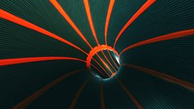 Background with flight in sci-fi tunnel with fantastic lights. Abstract background with flight in sci-fi tunnel with fantastic lights Stock Images