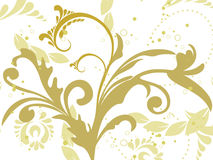Background with floral Stock Image